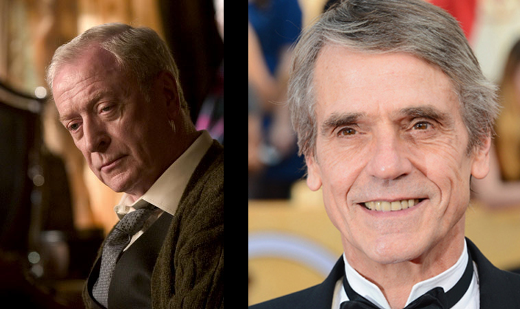 Jeremy Irons will be Alfred
