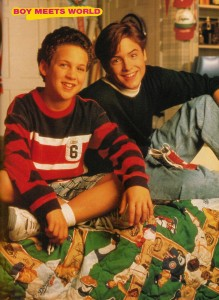 Corey and Eric Boy Meets World