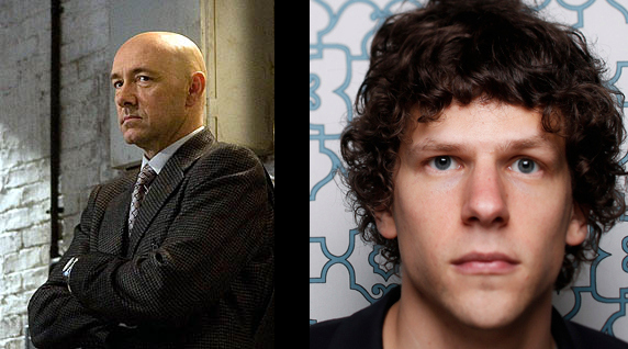 Jesse Eisenberg will be Lex Luthor