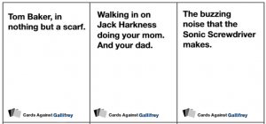Cards Against Gallifrey