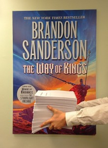 Words of Radiance Manuscript