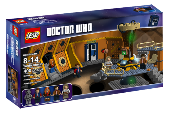 Nexo Knights Helden Formation 02: Attention Whovians: Lego Now Accepting 'Doctor Who