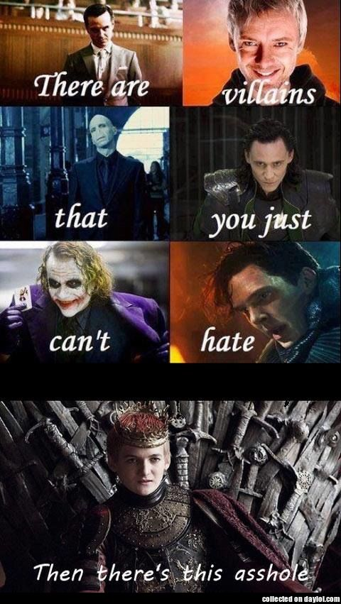 There are just some villains
