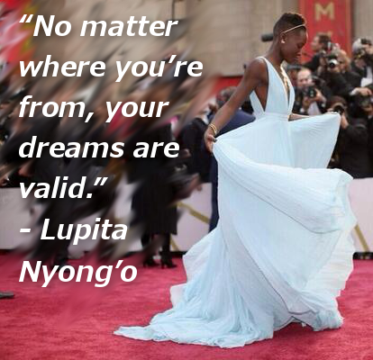 no matter where you're from, your dreams are valid