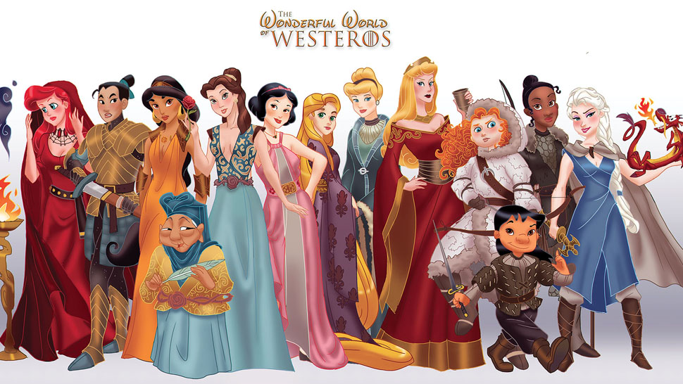 Westeros Disney Princesses