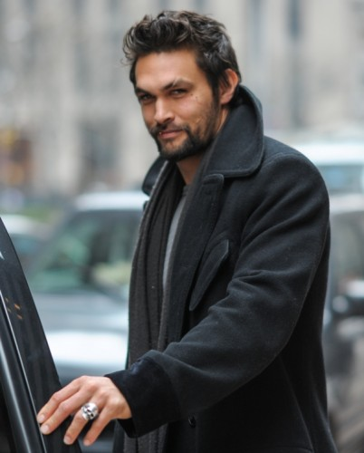 Jason Momoa out and about, New York City