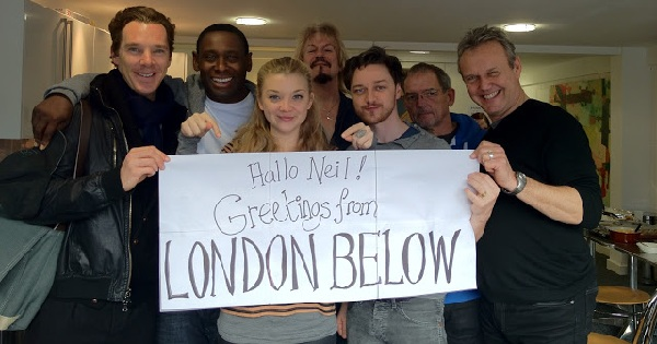 neverwhere audiobook cast