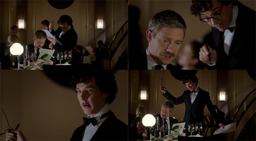 sherlock reveals himself to watson