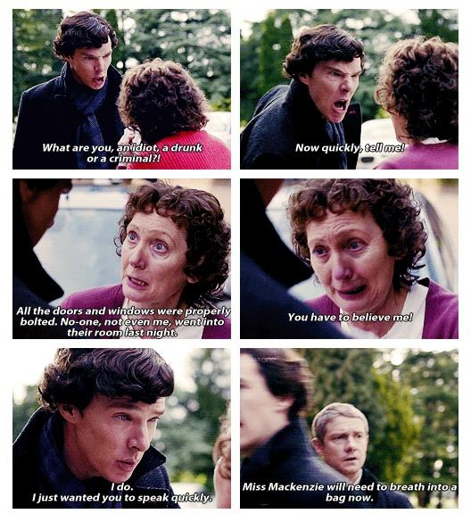 Sherlock is a Dick