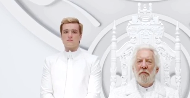 Peeta and Snow