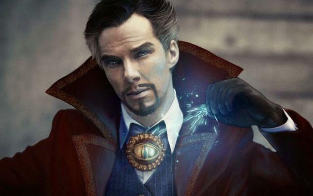 Ben as Doctor Strange