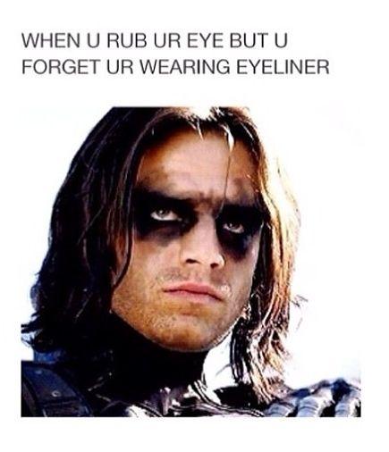 You Forgot You're Wearing Eyeliner